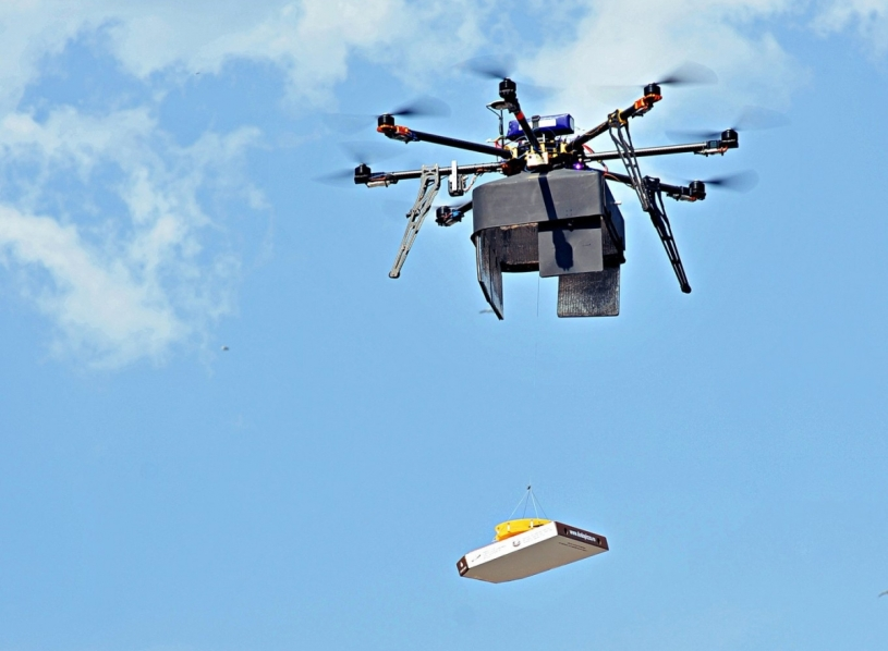 In The Near Future Pizzas Will Be Delivered Using Drones