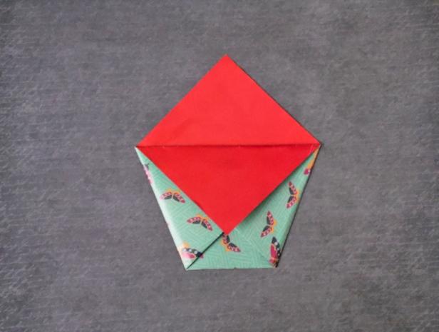 Origami Clutch Bag / Purse Tutorial - Paper Kawaii | 465x616