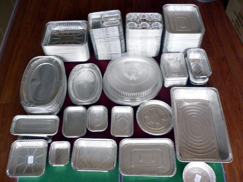 Manufacturing Aluminium Foil Containers