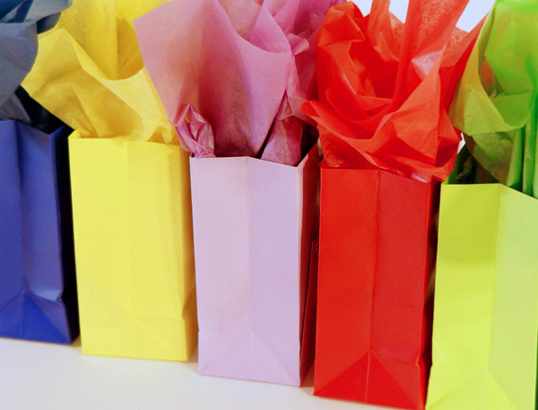 Types of tissue paper