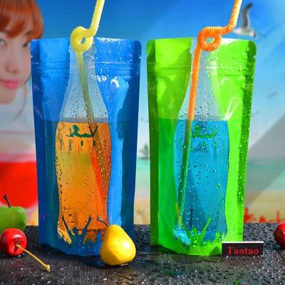 colourful spout pouches