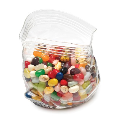 candies in a transparent ziplock pouch